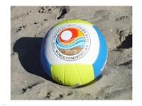 Beach Volleyball Ball Fine-Art Print