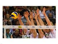 Volleyball Block Fine-Art Print