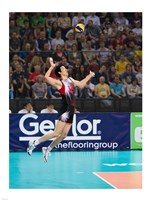 Volleyball Jump Serve Fine-Art Print