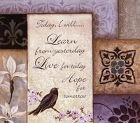 Lavender Inspiration I Fine-Art Print