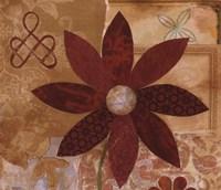 Contemporary Floral I Fine-Art Print