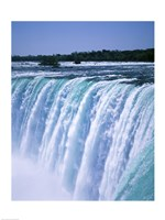Water flowing over Niagara Falls, Ontario, Canada Fine-Art Print