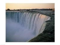 High angle view of a waterfall, Niagara Falls, Ontario, Canada Fine-Art Print
