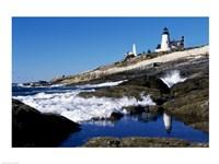 Pemaquid Point Lighthouse Pemaquid Point Maine USA Fine-Art Print