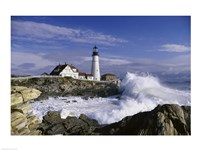 Portland Head Lighthouse Cape Elizabeth Maine  USA Fine-Art Print