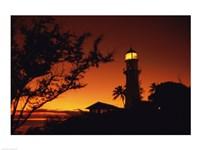 Diamond Head Lighthouse Oahu Hawaii USA Fine-Art Print