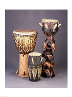 West African Drums Fine-Art Print