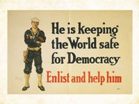 Keeping the World Safe Fine-Art Print