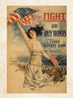 Fight or Buy Bonds Fine-Art Print