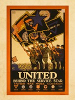 United Behind the Service Star Fine-Art Print