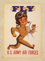 Fly U.S. Army Air Forces Fine-Art Print