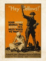American Library Association Fine-Art Print