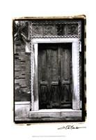 The Doors of Venice I Fine-Art Print