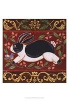 Folk Rabbit I Fine-Art Print