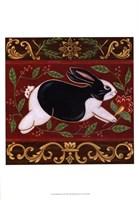Folk Rabbit II Fine-Art Print