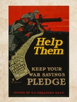 War Savings Pledge Fine-Art Print