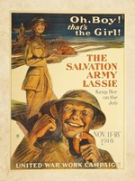 The Salvation Army Lassie Fine-Art Print