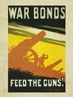War Bonds Feed the Guns Fine-Art Print