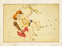 Gemini Zodiac Sign Fine-Art Print
