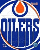 Edmonton Oilers 2011 Team Logo Fine-Art Print