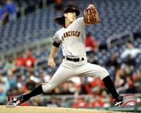 Tim Lincecum 2011 Action Fine-Art Print
