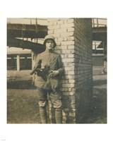 German Trooper France 1918 Fine-Art Print