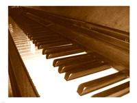 Klavier Tastatur Fine-Art Print