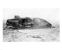 Mark IV Tank Exploded Fine-Art Print