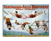 Trapeze Artists 1899 Fine-Art Print