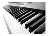 Yamaha P120 close-up of Piano Keys Fine-Art Print