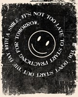 Never too late to Smile Fine-Art Print