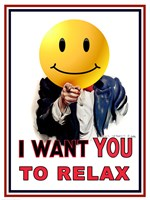 I Want You to Relax Fine-Art Print