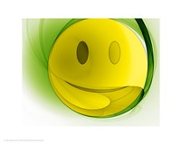 Happy Face Orb Fine-Art Print