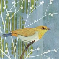 Blue Sky Songbird I Fine-Art Print