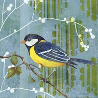 Blue Sky Songbird II Fine-Art Print