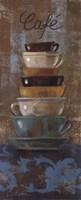 Antique Coffee Cups I Fine-Art Print