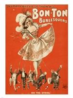 Bon-Ton Burlesquers Vertical Fine-Art Print