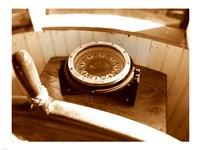 Classic Nautical Compass Fine-Art Print