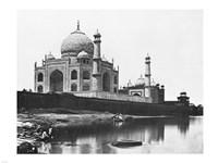 Felice Beato Taj Mahal 1865 Fine-Art Print