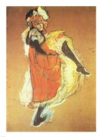 Henri de Toulouse-Lautrec Can-Can Jane Avril Fine-Art Print