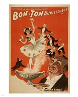 Bon-Ton Burlesquers With Server Fine-Art Print