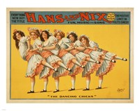 Hans and Nix - Fun, Music and Song Fine-Art Print