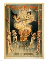 The Merry Maidens Fine-Art Print