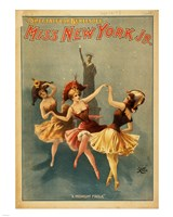 Miss New York Jr. - A Midnight Frolic Fine-Art Print