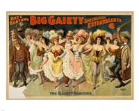 The Gaiety Dancers Fine-Art Print