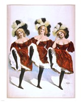 Can-Can Dancers Fine-Art Print
