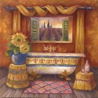 Villa Bath I Fine-Art Print