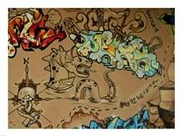 Graffiti Skulls Fine-Art Print