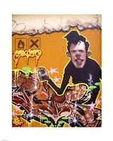 Graffiti Portrait Fine-Art Print