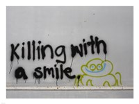 Killing With a Smile - Singapore Fine-Art Print